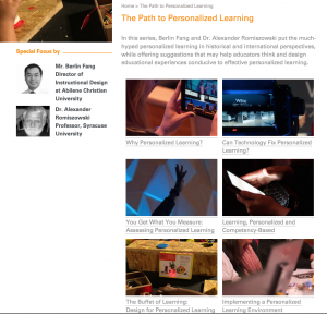 paths to personalized learning
