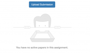 Turnitin Submission Button