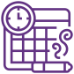 Icon for scheduling
