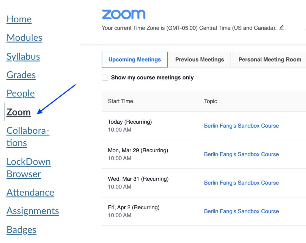 1 Create Zoom Meetings