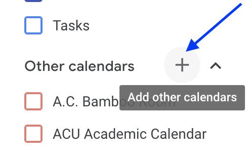 4. Go to Google Calendar