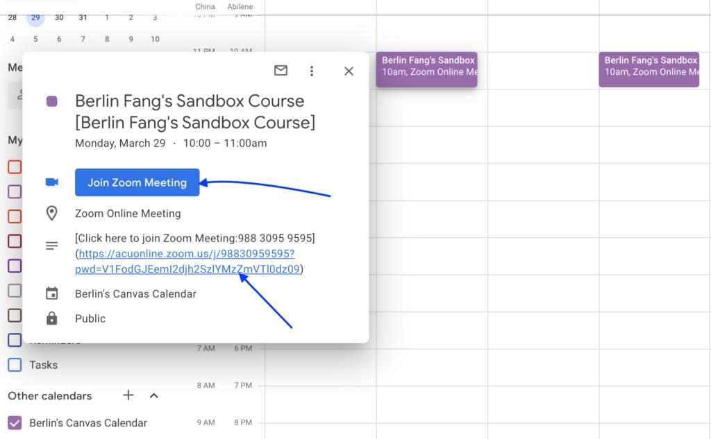 10 Check calendar in Google