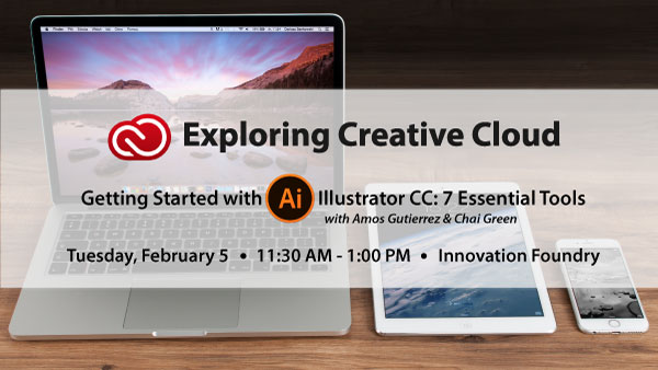 Exploring Creative Cloud: Illustrator