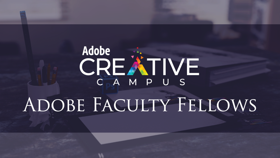 Adobe Faculty Fellows Grant