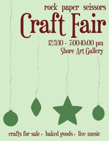 Craft Fair Acu Art Design Abilene Christian University