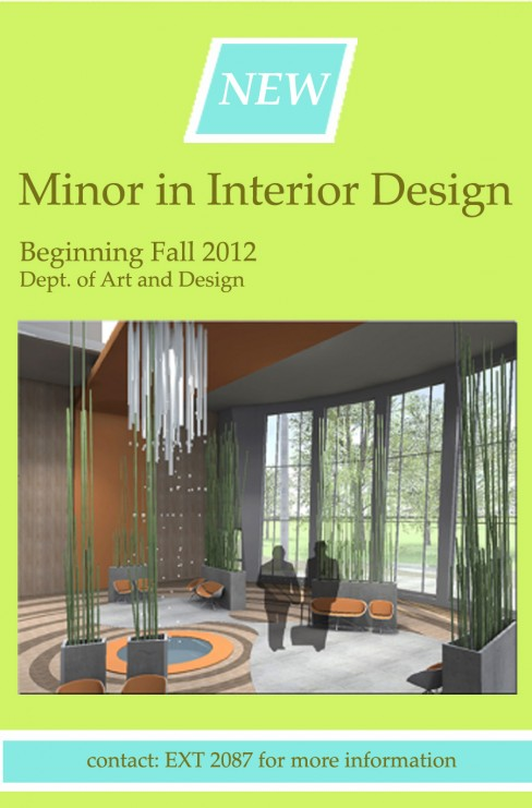 New Beginning Fall 2012 Minor In Interior Design