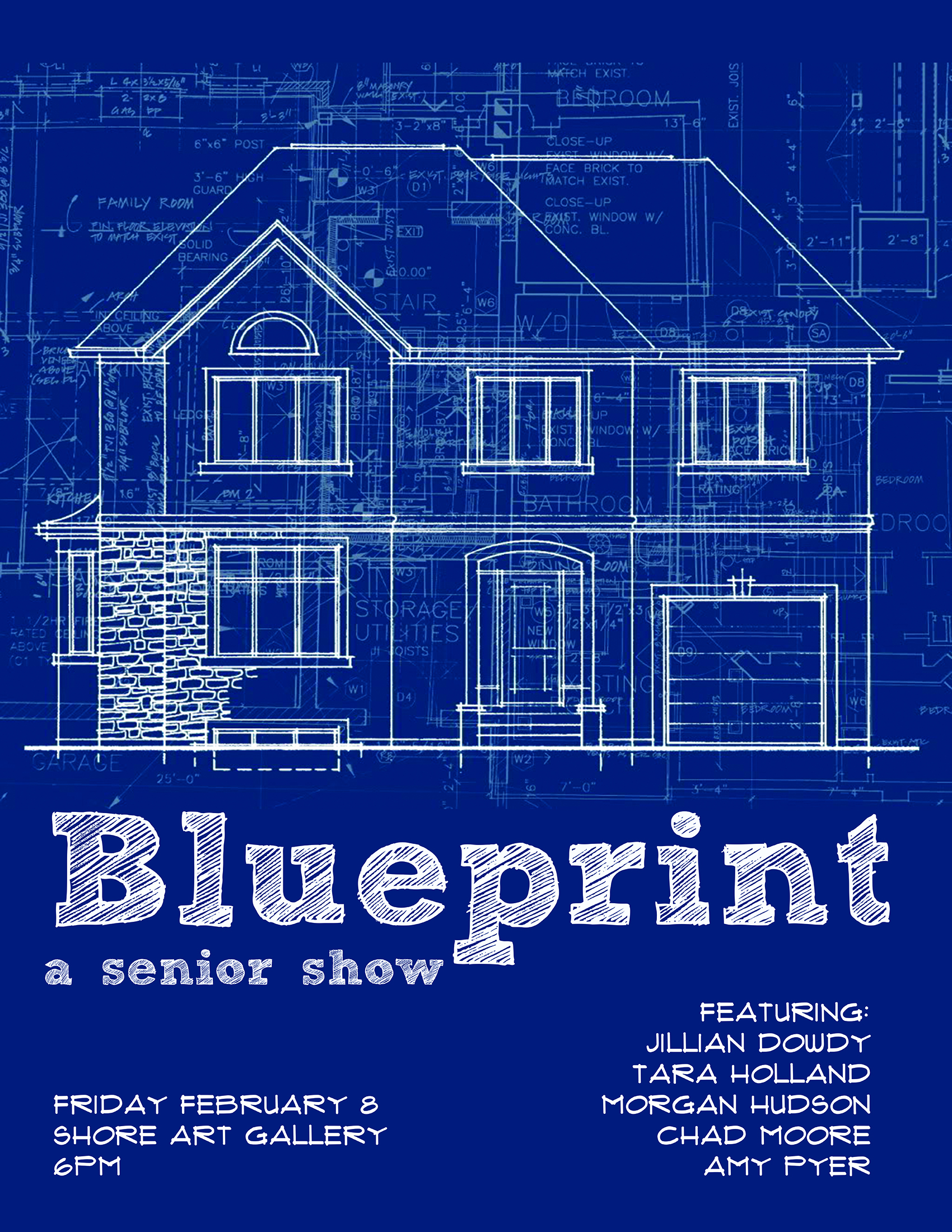 Senior show blueprint art design senior show blueprint malvernweather Gallery