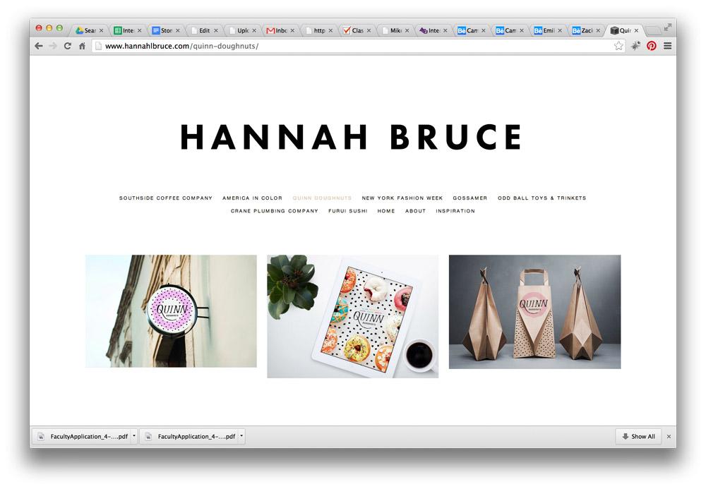 Third Year Review Portfolio Example | ACU Art & Design