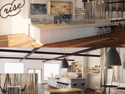 Coffee Shop Rendering
