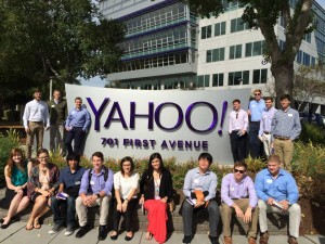 COBA and SITC students tour Yahoo!