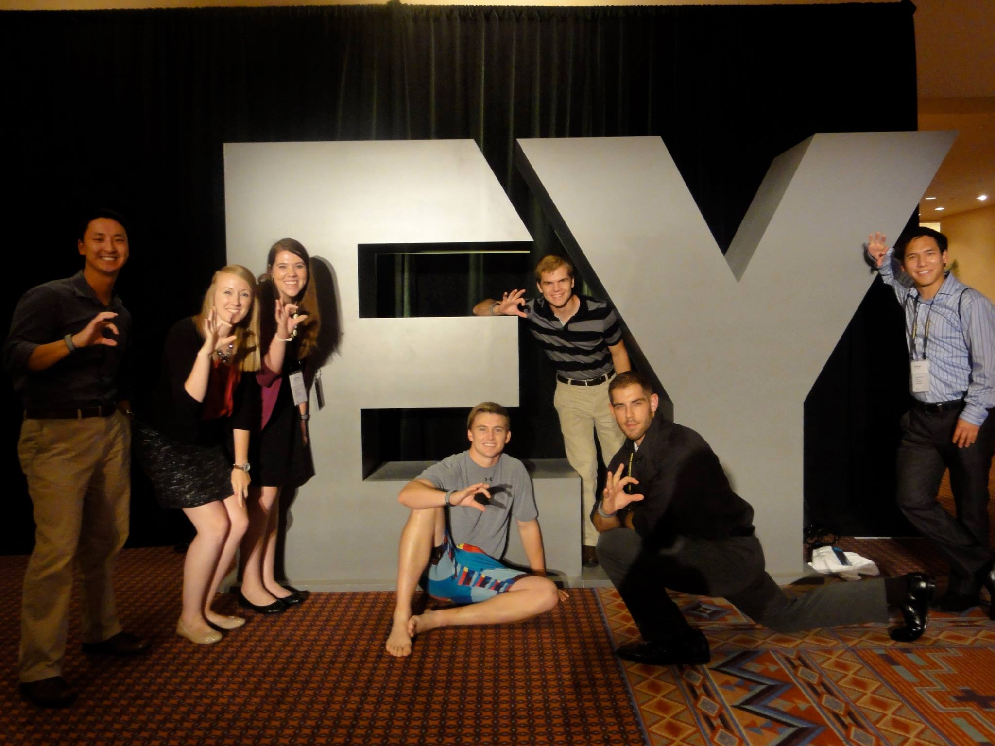 COBA Interns at the EY Orlando Conference