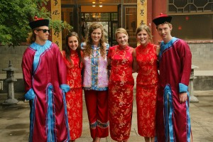 COBA students enjoyed learning about the Chinese culture when they visited several summers ago.