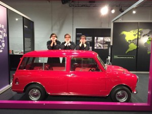 boys at mini cooper