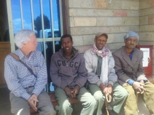 Dr. Lynn on a trip to Ethiopia with VisionFund