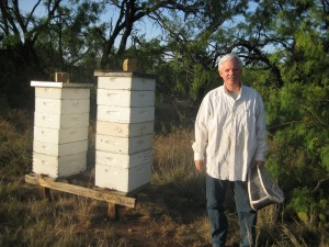 "Monty Lynn, AKA ""Buzzy"" the beekeeper"