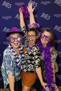 The three Amigos. Karen Viertel, Samantha Matta and Nuria Hall.
