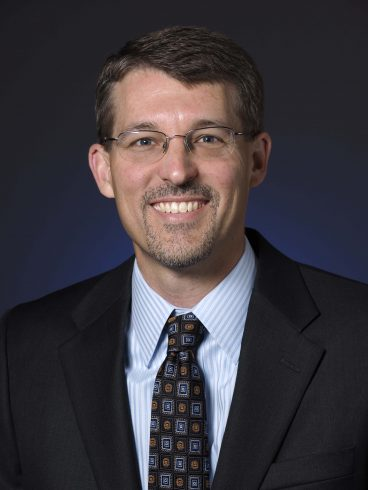 Dr. Brad Crisp, Dean of the College of Business Administration