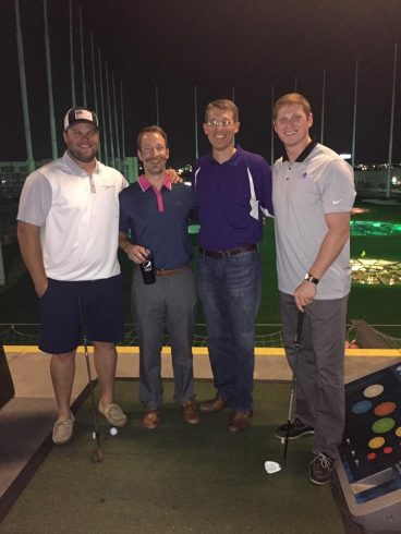 COBA Beat the Dean at Top Golf in Dallas