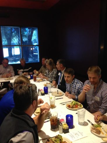 Meet the Dean lunch stop in Austin