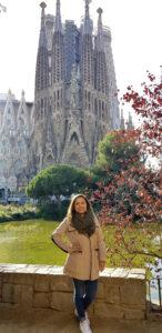 Judith Barajas in Barcelona