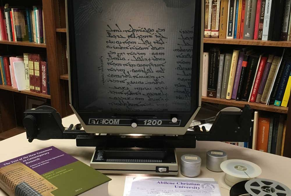 From Microfilm to Mass Media: Biblical Manuscripts in the Digital Age