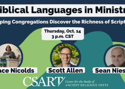 Languages in Ministry