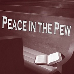 peace in the pew cover 250