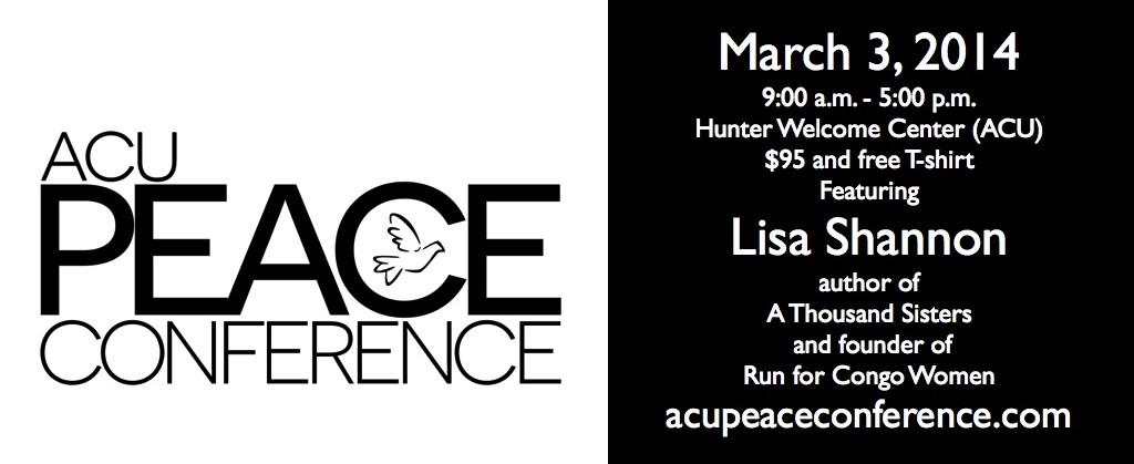 Banner - ACU Peace Conference 2014.001