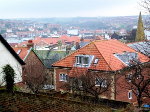 Looking over the west side of Whitby.