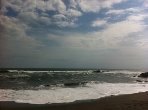 (View from beach in Leon, Nicaragua)