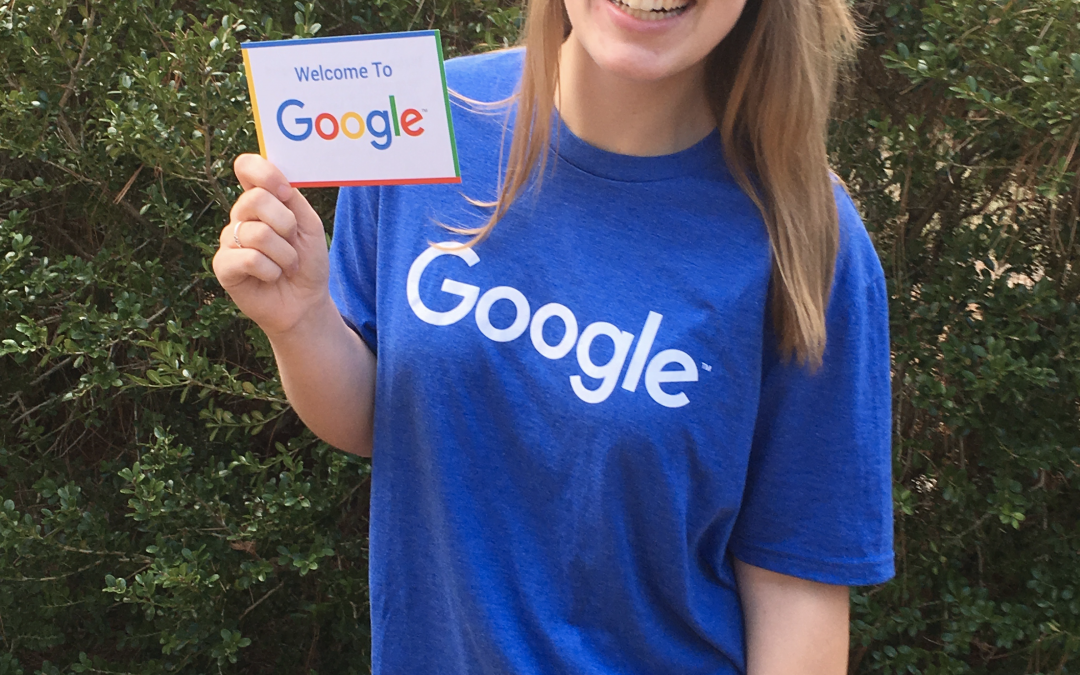 Former Griggs Center Student Leader lands job at Google