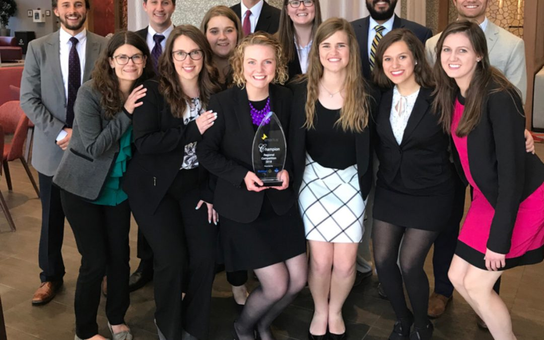 Enactus team selected as regional champions; headed to nationals
