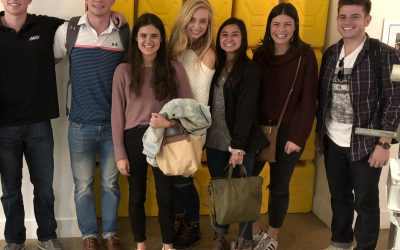 Griggs Center visits New York City over fall break