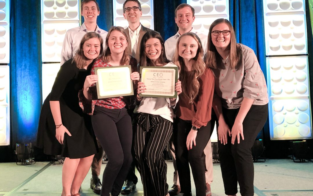 ACU's CEO Chapter wins Global Chapter of the Year for the 4th time