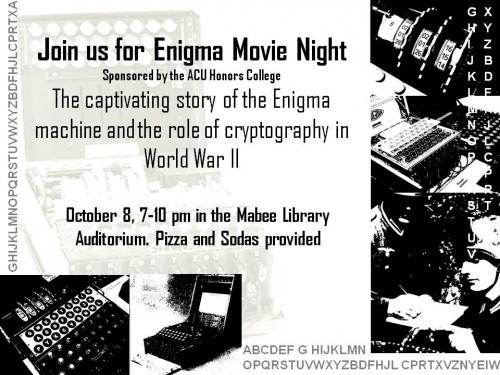 Enigma Movie Night