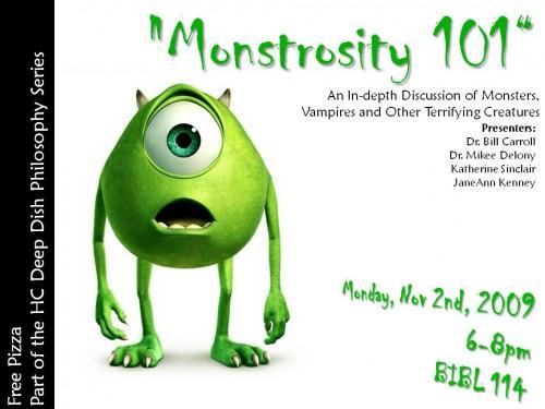 Monstrosity 101
