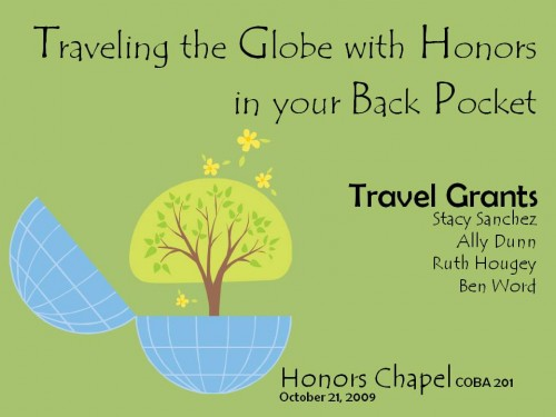 Honors Chapel, 10-21-09