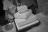 Anniversary Cake - Brandy Rains - B&W