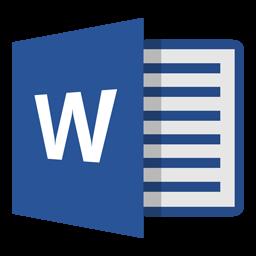 Microsoft Word 13 Icon Innovation Foundry