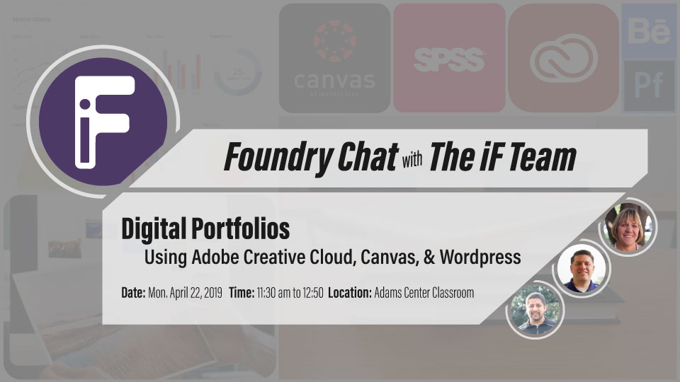 Student Digital Portfolios – April 22, 2019