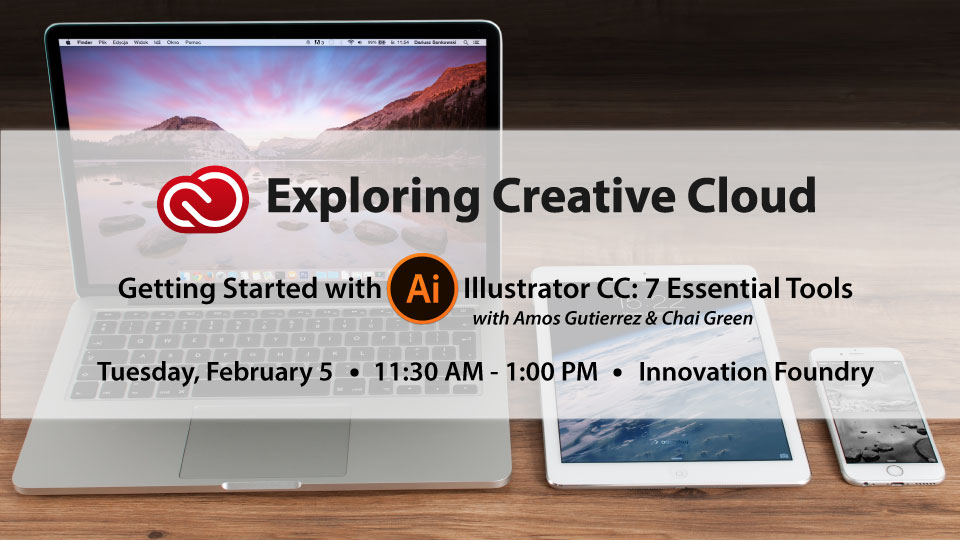 Adobe Workshop: 7 Tools To Get Started With Adobe Illustrator