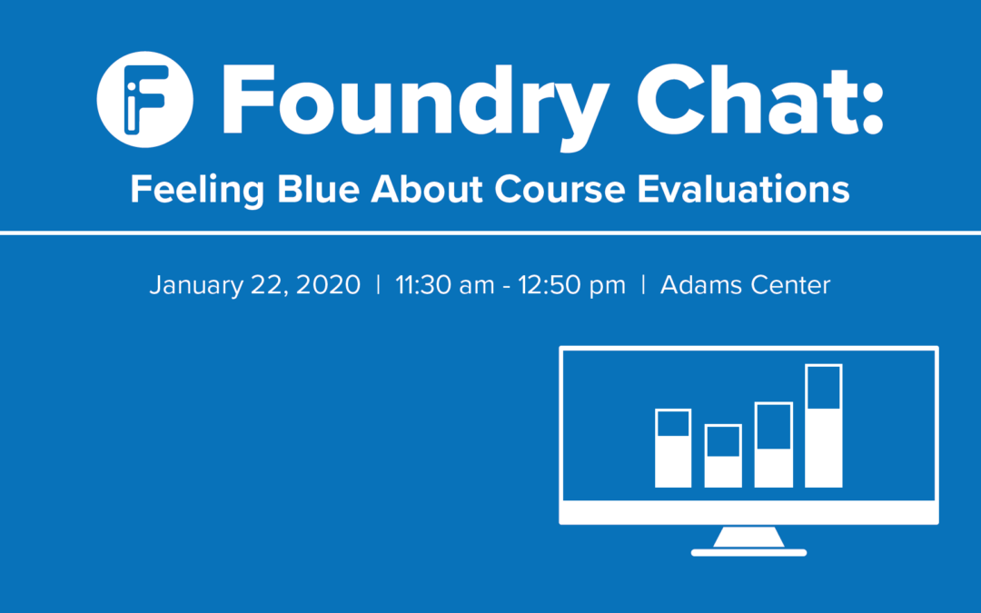 Feeling Blue About Course Evaluations