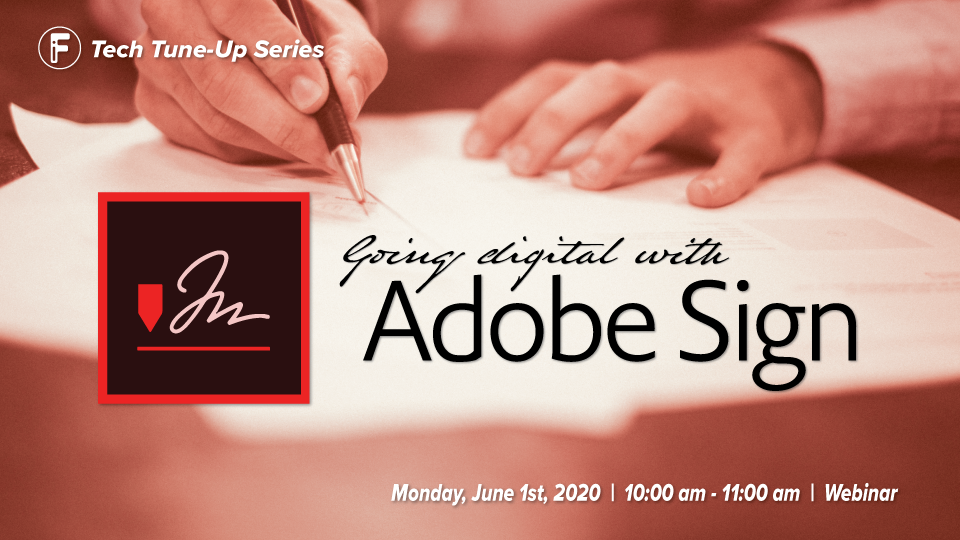 Going Digital with Adobe Sign