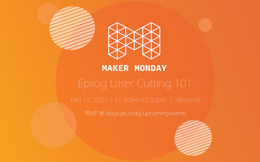 Epilog Laser Cutting 101