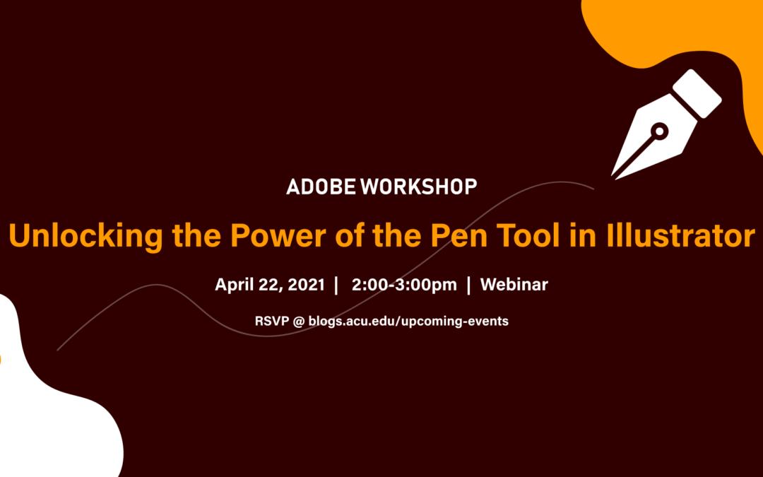 Unlocking the Power of the Pen Tool in Illustrator