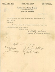 jrs - lit society letter