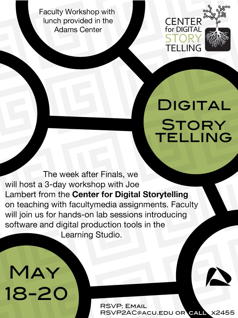 Digital Storytelling workshop