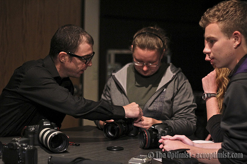 Canon Pro Video workshop kicks off FilmFest