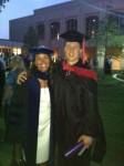 Outstanding Intern award recipient, Zach Austin, with Dr. Sara Blakeslee