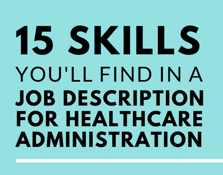 This Is What a Healthcare Admin Job Description Looks Like